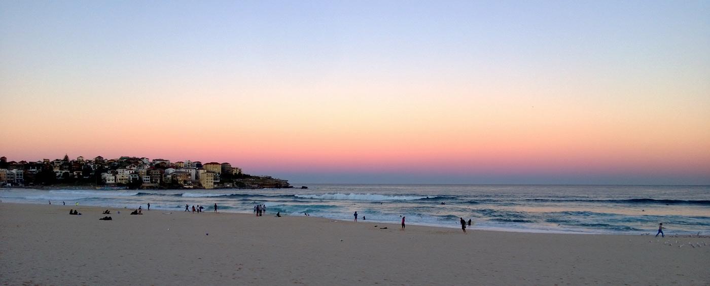 爱上澳洲海滩?